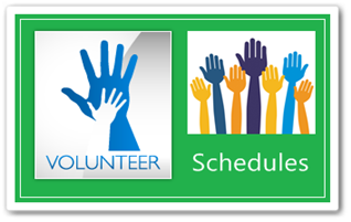Volunteer Schedules